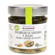 Escabeche de legume si alge marinate bio 190g