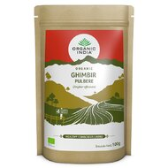 Ghimbir Certificat Ecologic Pulbere, Organic India, 100g