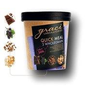 Graci Mancare Instant Functionala - 3 Cereale Integrale, 75gr