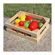 Ladita cu fructe din lemn, Multicolora