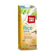 Lapte de orez cu vanilie bio 1 L Lima
