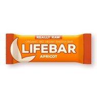 Lifebar baton cu caise raw bio 47g PROMO