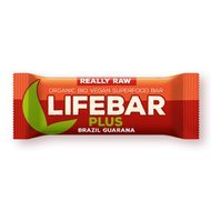 Lifebar Plus baton cu nuci braziliene si guarana raw bio 47g PROMO