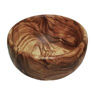 Me Luna - Bol rotund din lemn de maslin, 16 cm