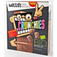Milzu! Crunchies cu cacao bio, 250gr