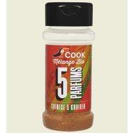 Mix chinezesc de condimente  5 Parfumuri bio 35g Cook