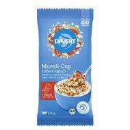Musli-Cup capsuni si iaurt bio 55g DAVERT PROMO