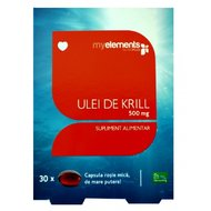 MYELEMENTS KRILL OMEGA 3 500MG 30CPS