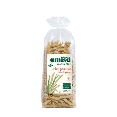 Penne din orez integral fara gluten bio 500g
