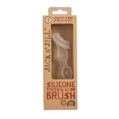 Periuta din silicon pentru dinti si gingii, 2-5 ani
