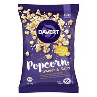 Popcorn dulce sarat bio 80g DAVERT PROMO