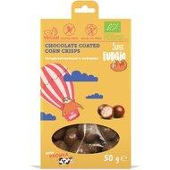 Porumb crispy invelit in ciocolata bio 50g Super Fudgio