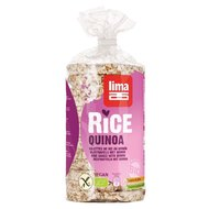 Rondele din orez expandat cu quinoa bio 100g