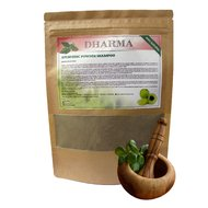 Sampon ayurvedic pudra 100% natural, 100gr Dharma