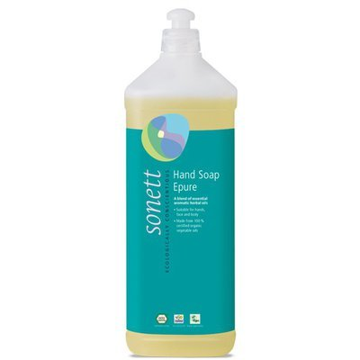 Sapun lichid - gel de dus ecologic Epure 1L, Sonett
