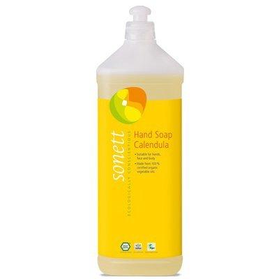 Sapun lichid - gel de dus ecologic Galbenele 1L, Sonett