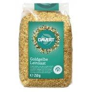 Seminte de in aurii bio 250g DAVERT PROMO