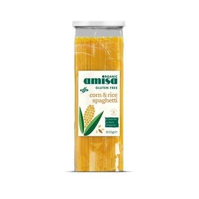 Spaghetti din orez si porumb fara gluten bio 500g