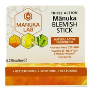 Stick anti-imperfectiuni MANUKA LAB cu miere de Manuka MGO 525+, ulei de Manuka MBTK 25+ si ulei de Tea Tree, 8 ml, natural