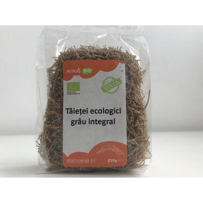 Taitei ecologici din grau integral, Petras Bio, 250g