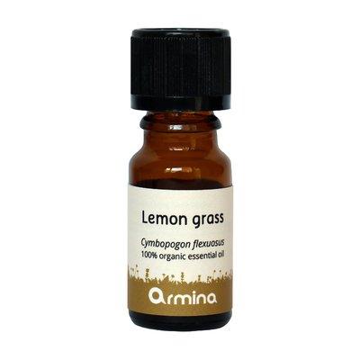 Ulei esential de lemongrass (Cymbopogon flexuosus) bio 10ml ARMINA