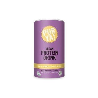 Vegan Protein Drink red banana-baobab bio 550g PROMO