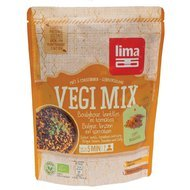 Vegi mix curry, bulgur si linte bio 250g Lima PROMO