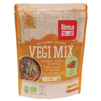 Vegi mix curry, bulgur si linte bio 250g Lima PROMO