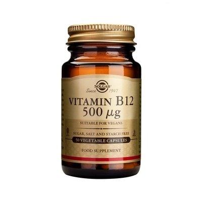 Vitamina B12 500mcg 50cps(Cobalamina) - SOLGAR