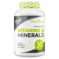 Vitamine si minerale 1500mg, 90 tablete, 6Pak Nutrition