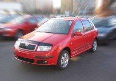 Paravanturi SKODA FABIA Hatchback si Sedan an fabr. 2000-2007 (marca  HEKO)