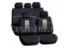 Huse universale pentru scaune auto - negre