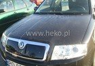 Masca radiator SKODA SUPERB an fabr. 2002-2006 (marca  HEKO)