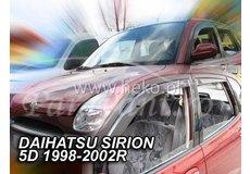 Paravant DAIHATSU SIRION Hatchback 5D an fabr. 1989-2005 (marca  HEKO)