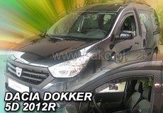 Covorase auto de cauciuc DACIA DOKKER VAN, an de fabricatie 2012-