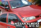 Paravanturi NISSAN ALMERA Hatchback an fabr. 1995-2000 (marca  HEKO)