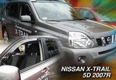 Covorase auto NISSAN X-TRAIL T31 2007-