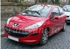 Paravanturi PEUGEOT 207 Hatchback cu 3 usi an fabr. 2006-2014 (marca  HEKO)