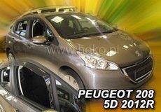 Covorase auto PEUGEOT 208 2012--