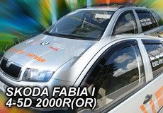 Masca radiator SKODA FABIA an fabr. 2000- (marca  HEKO)