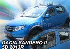 Covorase auto DACIA SANDERO I 2007-2013