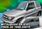 Paravanturi Mitsubishi Pajero Pinin, an fabr 1999-2006 (marca HEKO)