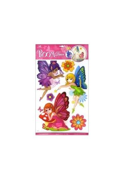 Set 3 stickere, pentru perete Fairies