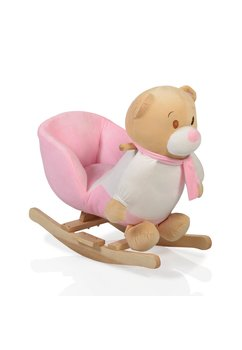 Balansoar, ursulet fetita, roz