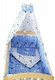 Baldachin patut, stelutele, albastre , 200 x 150 cm