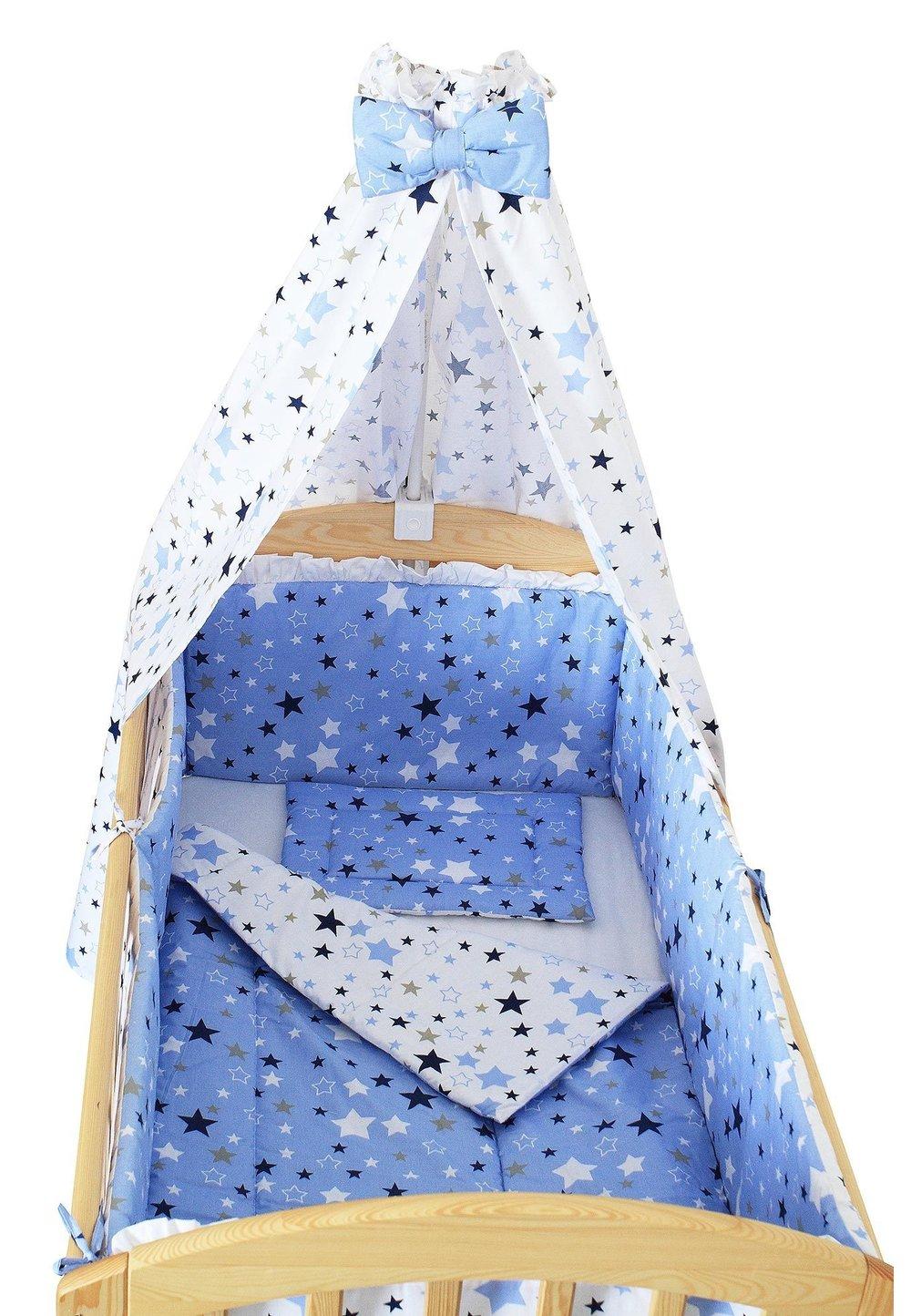 Baldachin patut, stelutele, albastre , 200 x 150 cm imagine