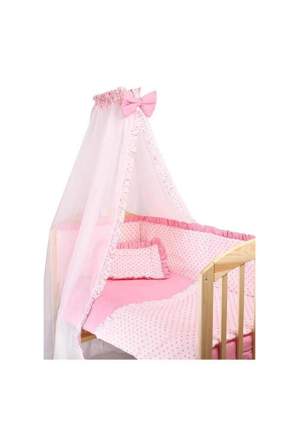 Baldachin roz cu stelute roz imagine