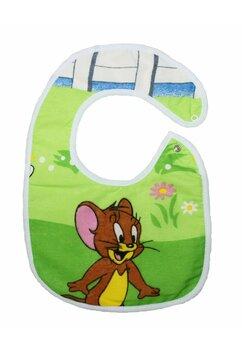 Baveta bebe, Jerry, verde, 0-6 luni