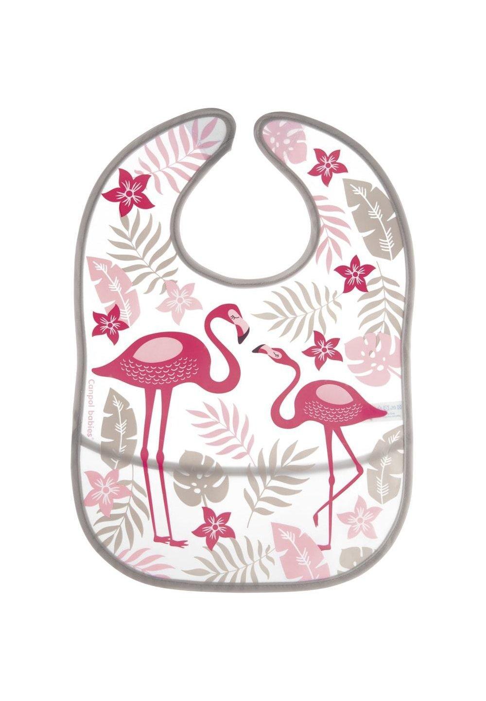 Baveta, Jungle, flamingo, + 6 luni imagine