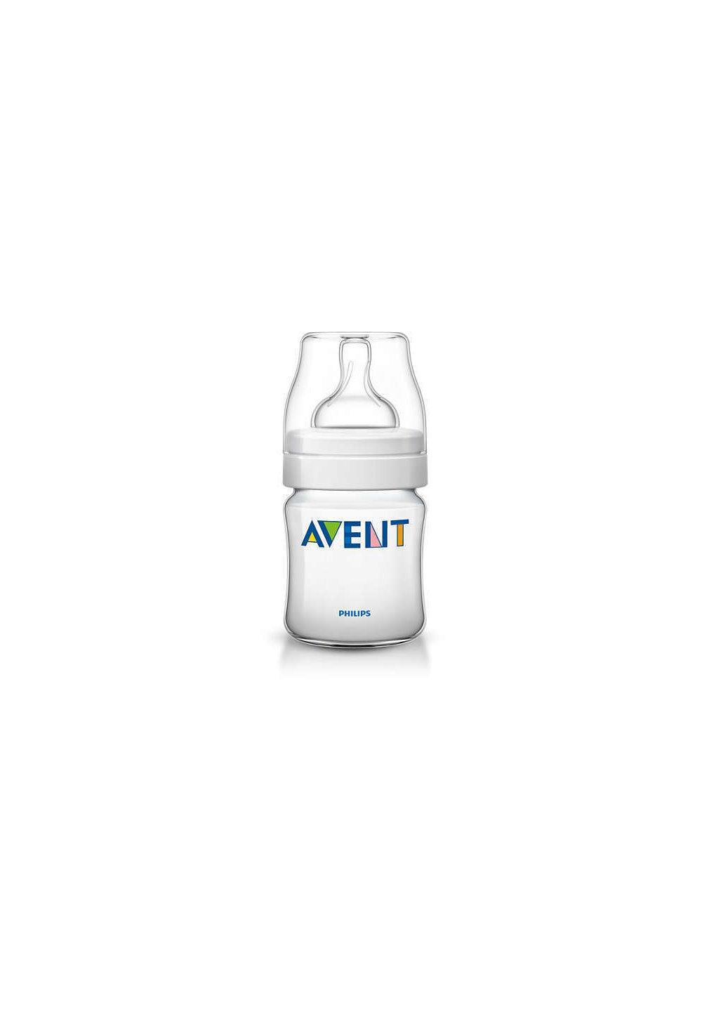 Biberon plastic, Avent, Clasic plus,125ml